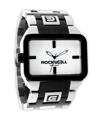 Rockwell Watches Duel Time - Silver-Black-White