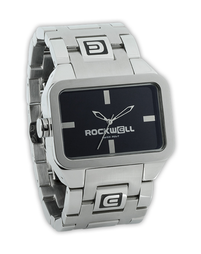 Rockwell Watches Duel Time - Silver-Black