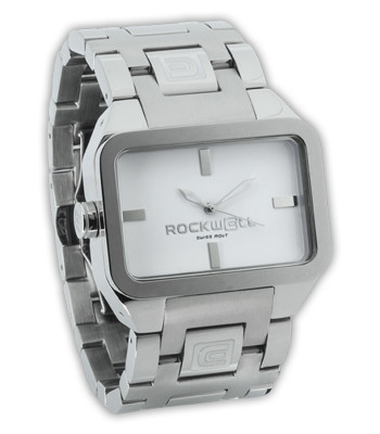 Rockwell Watches Duel Time - Silver-White