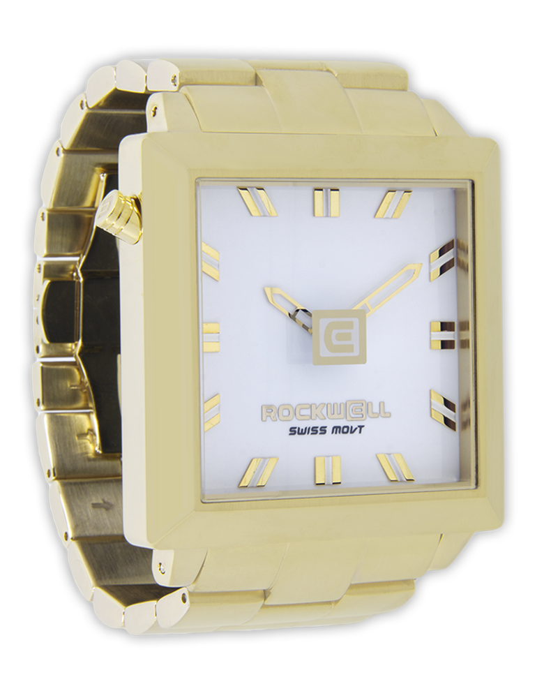 Rockwell Watches 50mm2 - Gold-White