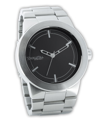 Rockwell Watches Maverick - Silver-Black