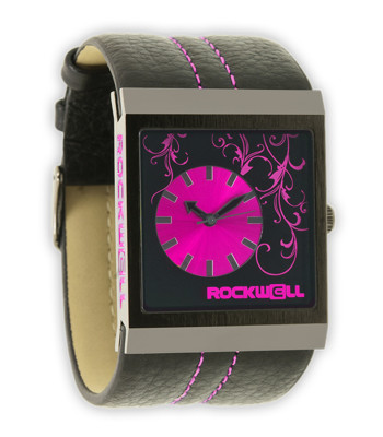 Rockwell Watches Mercedes - Black-Pink