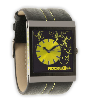 Rockwell Watches Mercedes - Black-Yellow