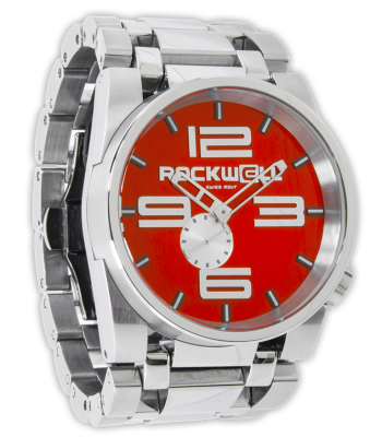Rockwell Watches 50mm - Silver-Red