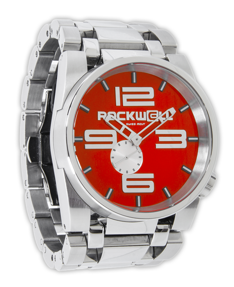 50mm silver rockwell watches