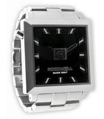Rockwell Watches 50mm2 - Silver-Black
