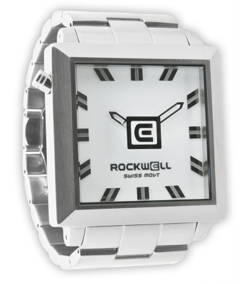 Rockwell Watches 50mm2 - Silver-White