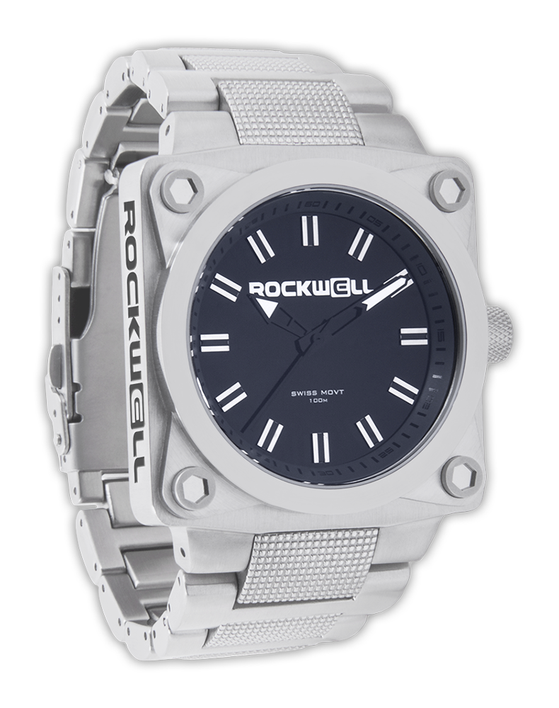 Rockwell Watches 747 - Silver-Black